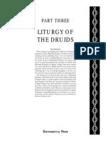 Reformed Druids - Anthology 03 Books of the Liturgy