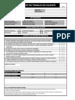 ANEXO 06 - Checklist de Trabajo en Caliente