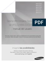 Manual Del Usuario Samsung MX MX E750 E760 E761 E770 E771 SPA