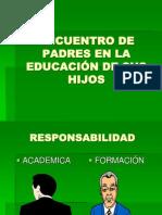 ENCUENTRO DE PADRES EN LA EDUCACIÓN DE SUS.ppt