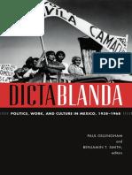 Dictablanda edited by Paul Gillingham & Benjamin T. Smith