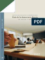 Guía De La Democracia Directa