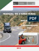 Manual de Carreteras Cons 2013