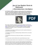 Las 112 Reglas de Jean Baptiste Morín de Villefranche