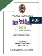 2013 church accounts