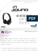 Fone de Ouvido Bluetooth (MBH-SX907)