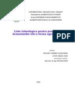 Linie Tehnologica Pentru Producerea Branzeturilor