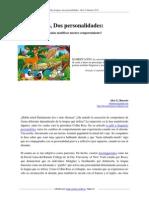 Dos Lenguas lenguas dos personalidades (Barreto, 2013)