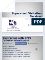 supervised visitation contractor orientation audio