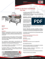 Empacadora Flow Pack Scorpion - Top Seal 06201018