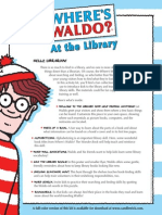 Where's Waldo? At the Library Kit