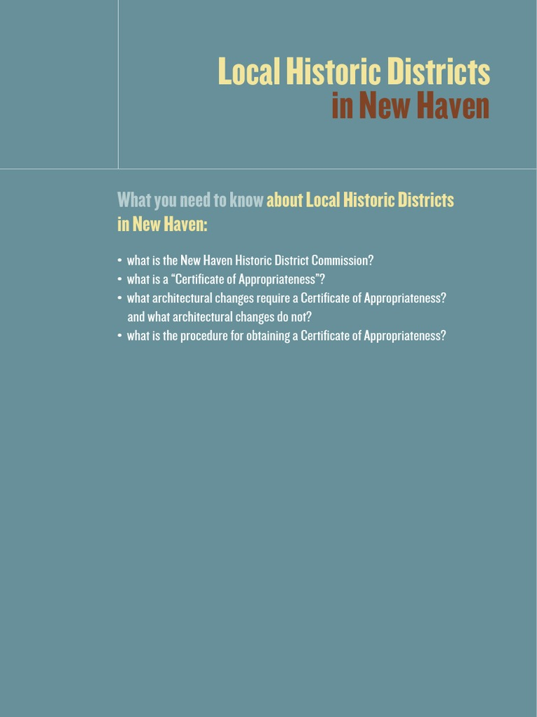Local Historic Districts New Haven | New Haven | Window