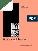 Gonzalez Julia Fina Ropa Blanca Difu2013