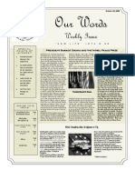Newsletter Issue 10