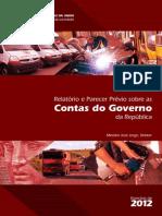 CG 2012_relatorio Completo