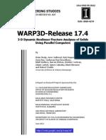 WARP3D 17.4.0 Manual Updated June 5 2013