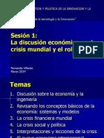 Discusion Economica Post Crisis Mundial Villaran