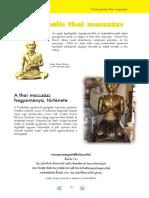 Babamasszázs, Tradicionális thai masszázs Baranyi Ágnes