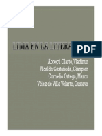 Lima en La Literatura
