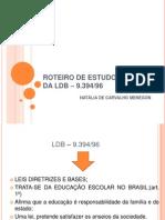ROTEIRO DE ESTUDO CRÍTICO DA LDB – 9