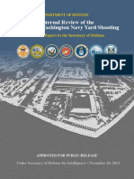 Department of Defense Review Navy Yard shooting