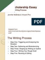 Scholarship Writing Tips