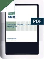 r2r Projective Techniques Ppt