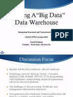 Ia Pe 2013-10-Building the BigData EDW