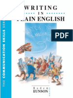 Writing in Plain English