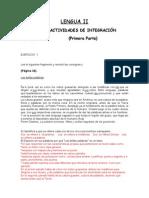 ACTIVIDADES DE INTEGRACIÓN LENGUA II (EDITADAS).doc