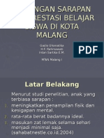 Power Point Sarapan Pagi Kir Siswa Mtsn Malang 1