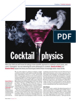 Cocktail Physics-Ποτά και Φυσική