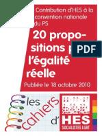 Les Cahiers d'Hes #08 (18 octobre 2010)
