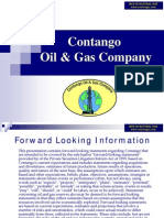 Contango Oil & Gas Co. Presentation