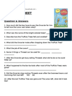 Worksheets Student Worksheet To Accompany The Lorax dr seuss the lorax worksheet lesson plan