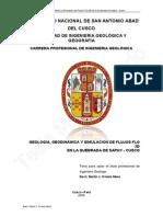 OVIEDO%2C M.%2C Geología%2C geodinámica y simulación de flujos Flo 2D en la quebrada de Saphy – Cusco