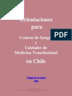 Orientaciones Para CS y UMTs en Chile
