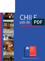 Comite de Inversiones Extranjeras 2012 Chile Pais de Oportunidades