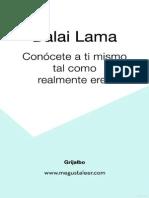 Dalai Lama Conoce a Ti Mismo