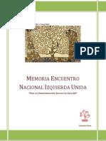 Memoria Encuentro Nacional IU