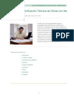 Curso de Planificacion Tecnica de Obras Con Ms Project