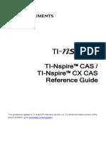 TI-NspireCAS ReferenceGuide En