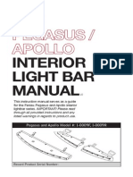 Feniex Pegasus Apollo Interior Light Bar