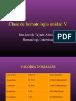 Clase de Hematologia V