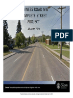 2014 03 12 Bowness CA Complete Street Presentation