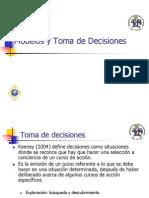 1.Modelos y Toma de Decisiones