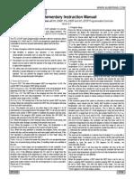 SYLXXXP Instruction Manual 1.5(1)