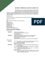 Anemias (Iron Deficiency, Pernicious, Aplastic, Hemolytic)