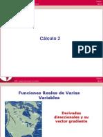 MA263 2012 01 S06-03 Funciones Derivadas Direccionales y Vector Gradiente