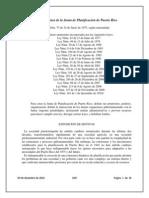 Ley orgánica Junta de Planificación